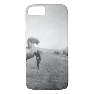Avenue of Statues, on road _War Image iPhone 8/7 Case