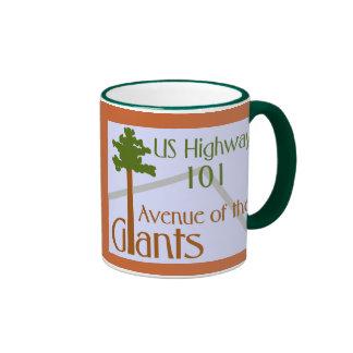 Avenue of the Giants Ringer Mug