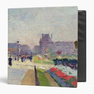 Avenue Paul Deroulede, Tuileries, Paris Binder