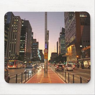 Avenue Paulista - São Paulo Mouse Pad
