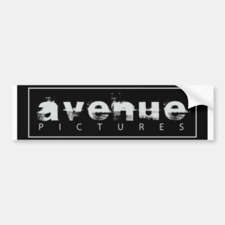 avenue pictures logo bumper sticker