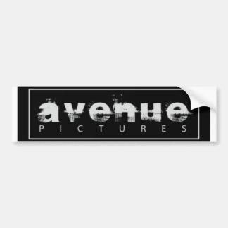 avenue pictures logo bumper sticker
