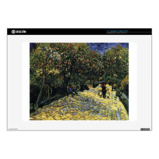 """Avenue with Chestnut Trees at Arles - Van Gogh 15"""" Laptop Decal"""