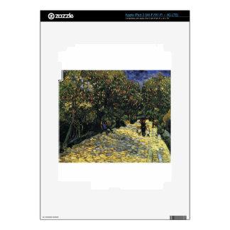 Avenue with Chestnut Trees at Arles - Van Gogh iPad 3 Skin