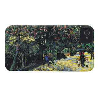 Avenue with Flowering Chestnut Trees at Arles iPhone 4 Case-Mate Case