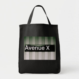 Avenue X Tote Bag