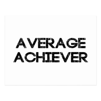 Average Achiever Postcard