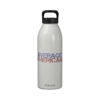 Average American Drinking Bottles