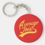 Average Joe's Basic Round Button Keychain