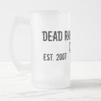 Average Mind... Frosted Glass Beer Mug