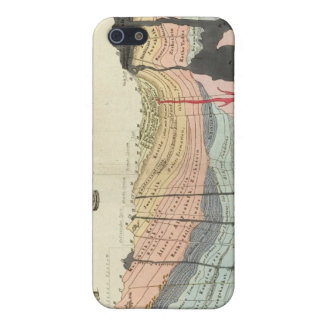 Average of a part of earth's crust case for iPhone SE/5/5s