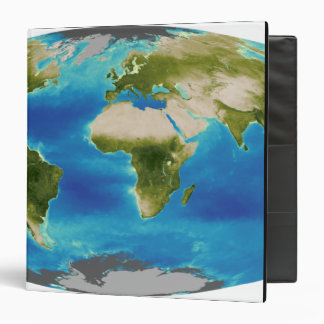 Average plant growth of the Earth 3 Ring Binder