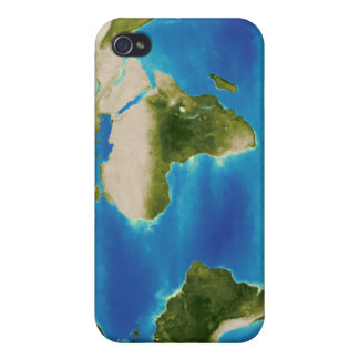 Average plant growth of the Earth iPhone 4 Cover