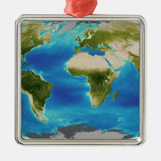 Average plant growth of the Earth Metal Ornament
