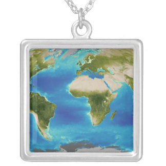 Average plant growth of the Earth Square Pendant Necklace
