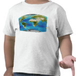 Average plant growth of the Earth T Shirts
