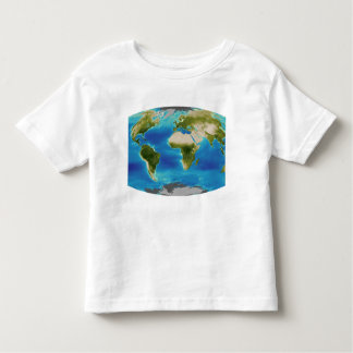 Average plant growth of the Earth Toddler T-shirt