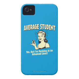 Average Student: Partying Advanced iPhone 4 Case-Mate Case