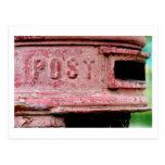 avería de comunicación postal