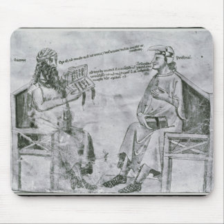 Averroes  in Conversation with Porphyry Mousepads