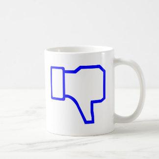 Aversión de Facebook Taza De Café