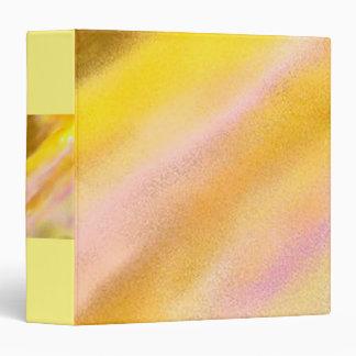 Avery 3-ring binder Sun Lake Art Yellow Lilac Gold
