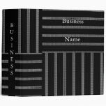 Avery Binder Black & White Style Stripe