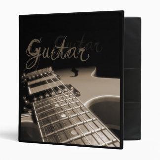 Avery Binder Electric Guitar 2 - Brown