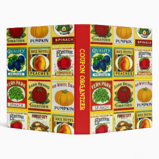 Avery Binder Retro CAN LABELS Shopper Coupon Saver
