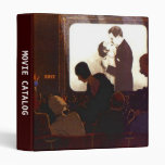 Avery Binder Retro MOVIE ORGANIZER CATALOG LISTS+