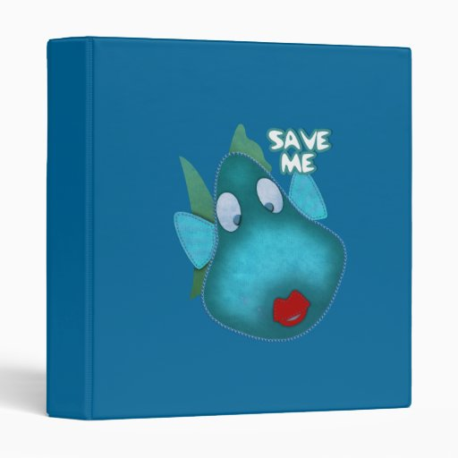 Avery Binder Save me SAVE THE WHALES 3 Ring Binder
