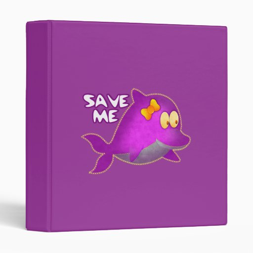 Avery Binder Save me SAVE THE WHALES Binders