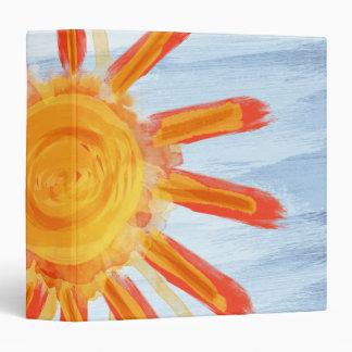 Avery Binder, Sunshine Painting Vinyl Binder