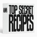 Avery Binder, Tall Skinny Text, Top Secret Recipes