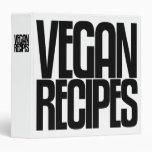 Avery Binder, Tall Skinny Text, Vegan Recipes