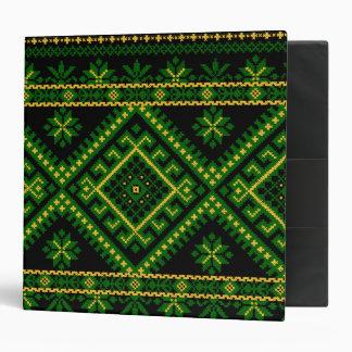 Avery Binder Ukrainian Cross Stitch Print