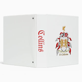 Avery Collins Heraldry Genealogy Binder