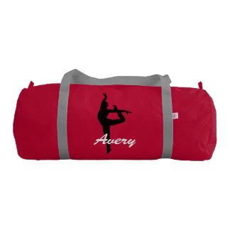 Avery costom duffle gym dance bag gym duffel bag