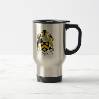 Avery Family Crest Coffee Mugs