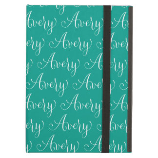 Avery - Modern Calligraphy Name Design Case For iPad Air