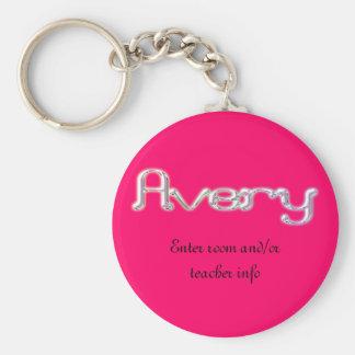 Avery Name Tag Key Chain