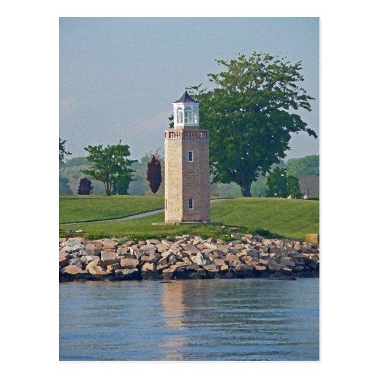 Avery Point Light Postcard