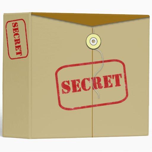 Avery Secret Binder Security Folder