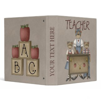 Avery Teacher School Notebook binder