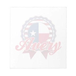 Avery, TX Libretas Para Notas