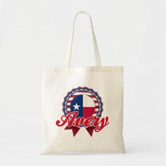 Avery, TX Bolsa Lienzo