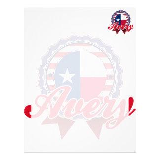 Avery, TX Membrete A Diseño