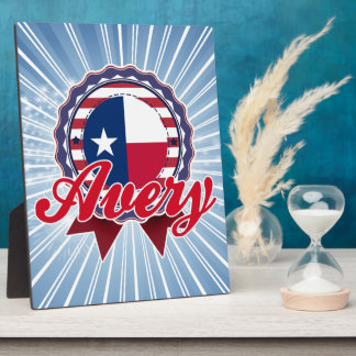 Avery, TX Placas De Madera