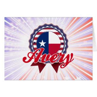 Avery, TX Felicitaciones