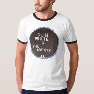Averys inverted logo Ringer T Shirts